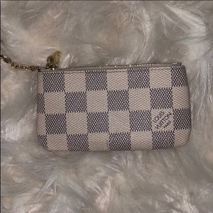 Damier Louis Vuitton Key Pouch